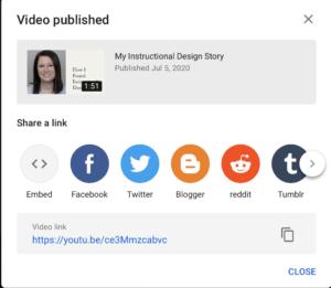 YouTube Uploaded